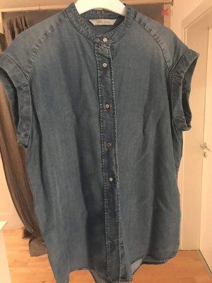 Mango Jeans Jeans blouse veelkleurig