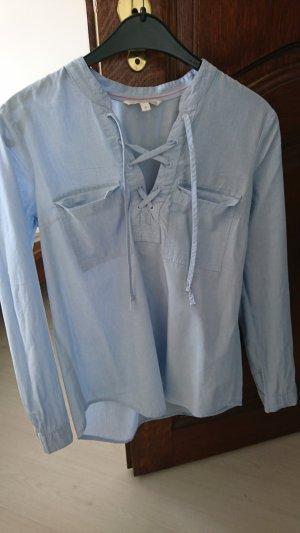 Tom Tailor Denim Blusa vaquera azul celeste