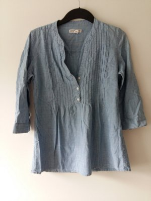 Aeropostale Denim Blouse blue-azure