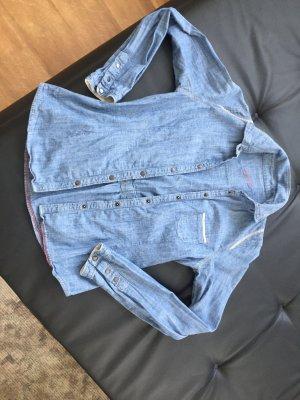 Jeansbluse