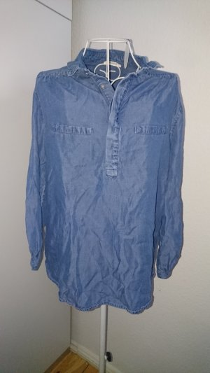 Jeansbluse Fischerhemd Oversize 36 38