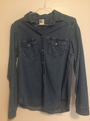 Jeansbluse gr 34