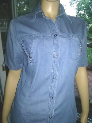 Authentic Jeans blouse azuur