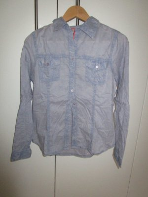 Jeansbluse Gr. S 36/38