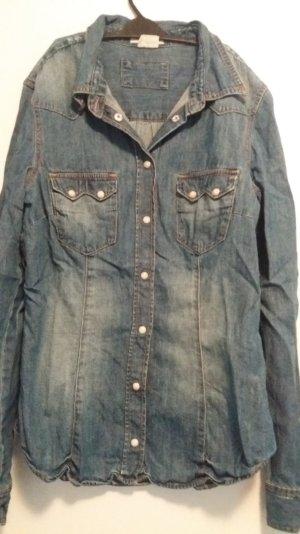 Jeansbluse Gröse 36 von H&M