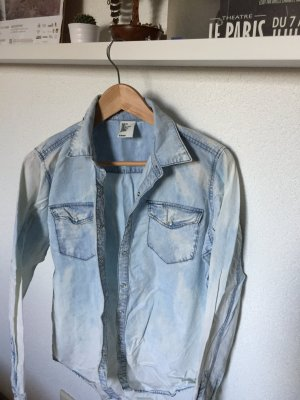 Jeansbluse, H&M, Gr. S