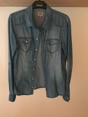 Jeansbluse / Hemd von Only