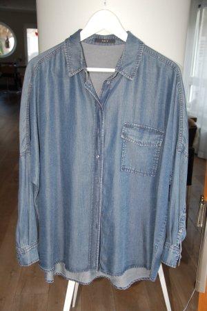 Jeansbluse im Oversizelook von SET