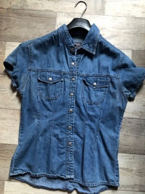 Jeansbluse Jeanshemd