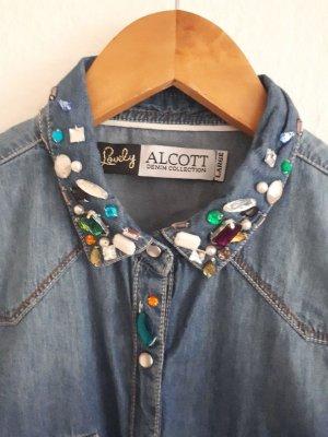 Alcott Denim Blouse multicolored