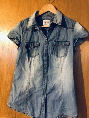 Edc Esprit Blouse en jean bleu