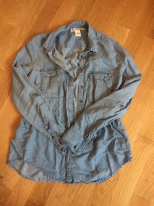 Jeansbluse von H&M, Größe 38, so gut wie neu