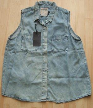Jeansbluse von LTB  - Gr. L