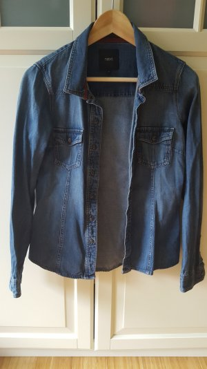 Next Blusa denim blu