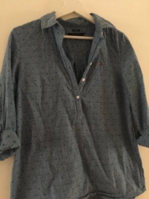 Tommy Hilfiger Denim Shirt dark blue-azure
