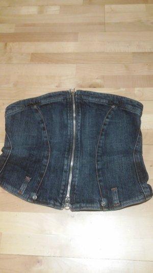 Jeansbustier von W&LT
