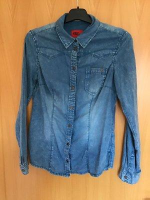 QS by s.Oliver Chemise en jean bleu
