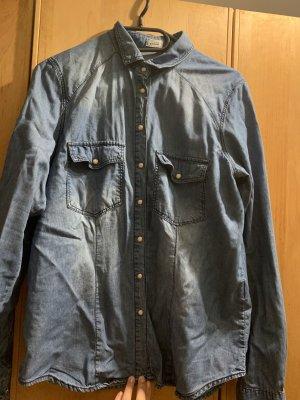 Pimkie Denim Shirt blue