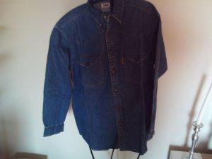 Levi's Camicia denim blu scuro