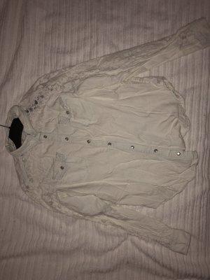 Primark Denim Shirt light blue-white