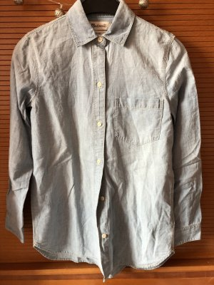 Madwell Denim Shirt pale blue-light grey