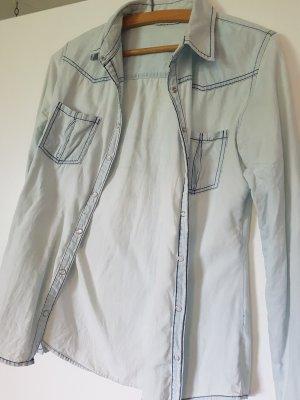 Tally Weijl Chemise en jean bleu azur