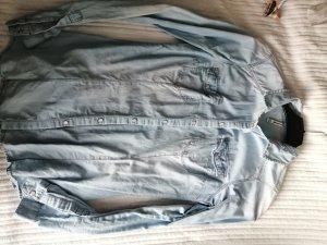 C&A Denim Shirt black-blue