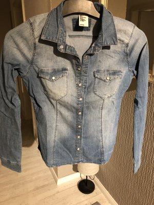 Jeanshemd blau H&M
