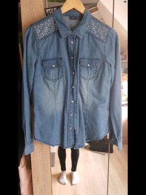 Esmara Jeans blouse blauw