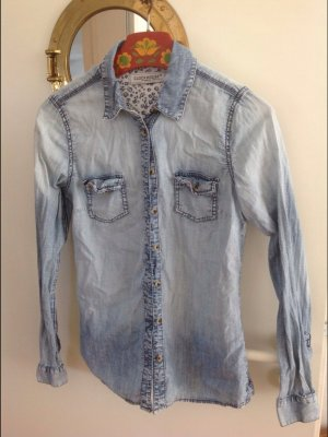 Jeanshemd Bluse C&A 38 Baumwolle