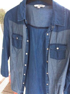 Tally Weijl Chemise en jean multicolore coton