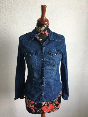 Jeanshemd/Bluse, mit 2 Brusttaschen