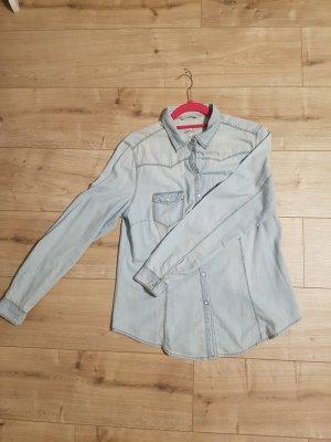 Denim Co. Denim Shirt light blue