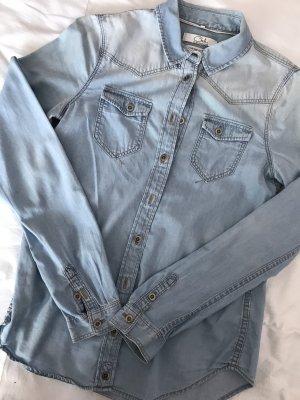 Camisa vaquera azul celeste