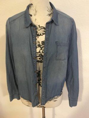 H&M Conscious Collection Chemise en jean bleuet
