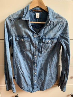 Denim Co. Denim Shirt azure