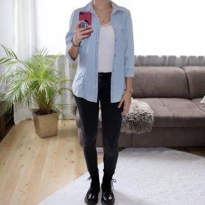 Camisa vaquera azul claro-azul