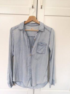 Hollister Denim Shirt azure