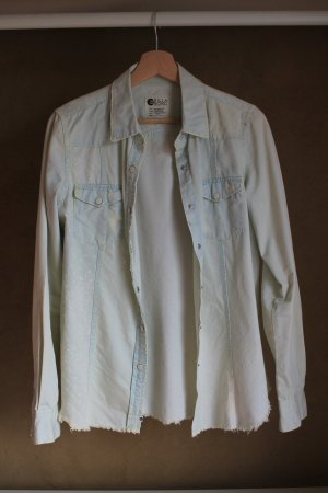 Billabong Denim Shirt pale yellow cotton