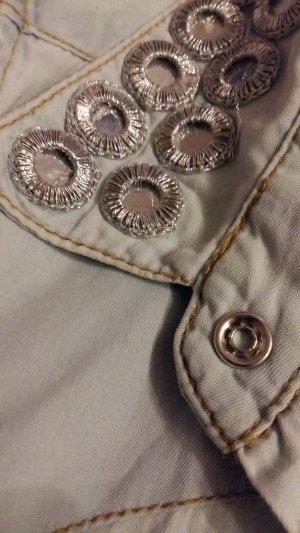 jeanshemd kürzärmlig