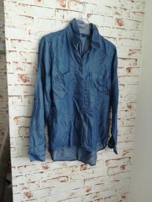 Tom Tailor Camisa vaquera azul aciano