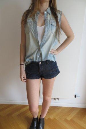 Jeanshemd ohne Arm von Vero Moda