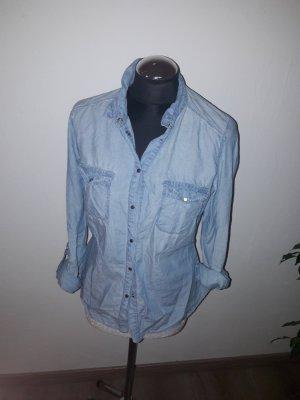 Promod Camicia denim azzurro