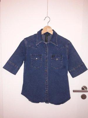 Lauren Jeans Co. Ralph Lauren Camisa vaquera azul oscuro Algodón