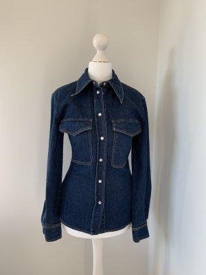 Stella McCartney Denim Shirt dark blue
