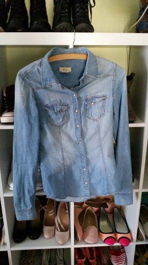 Jeanshemd super zu tragen