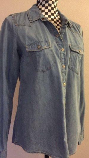 Clockhouse Camicia denim azzurro