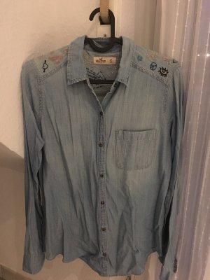 Hollister Chemise en jean bleu