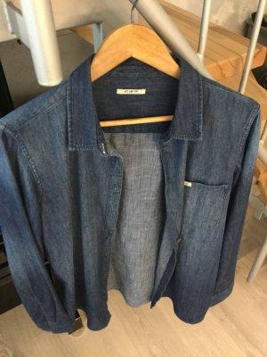 Lee Denim Shirt dark blue cotton