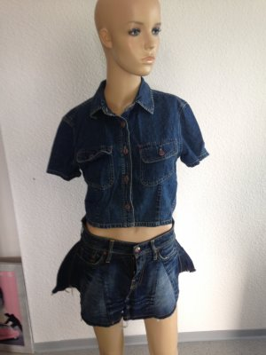 Pepe Jeans Short Sleeve Shirt steel blue-blue no material specification existing